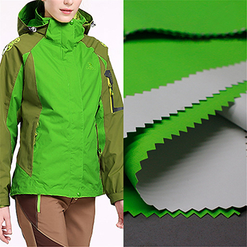 320d Ski Jackets Nylon coated Taslan fabric with breathable PU Coating