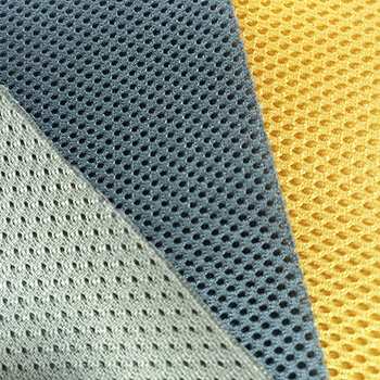 100% Polyester 3D mesh fabric 160 to 270gsm