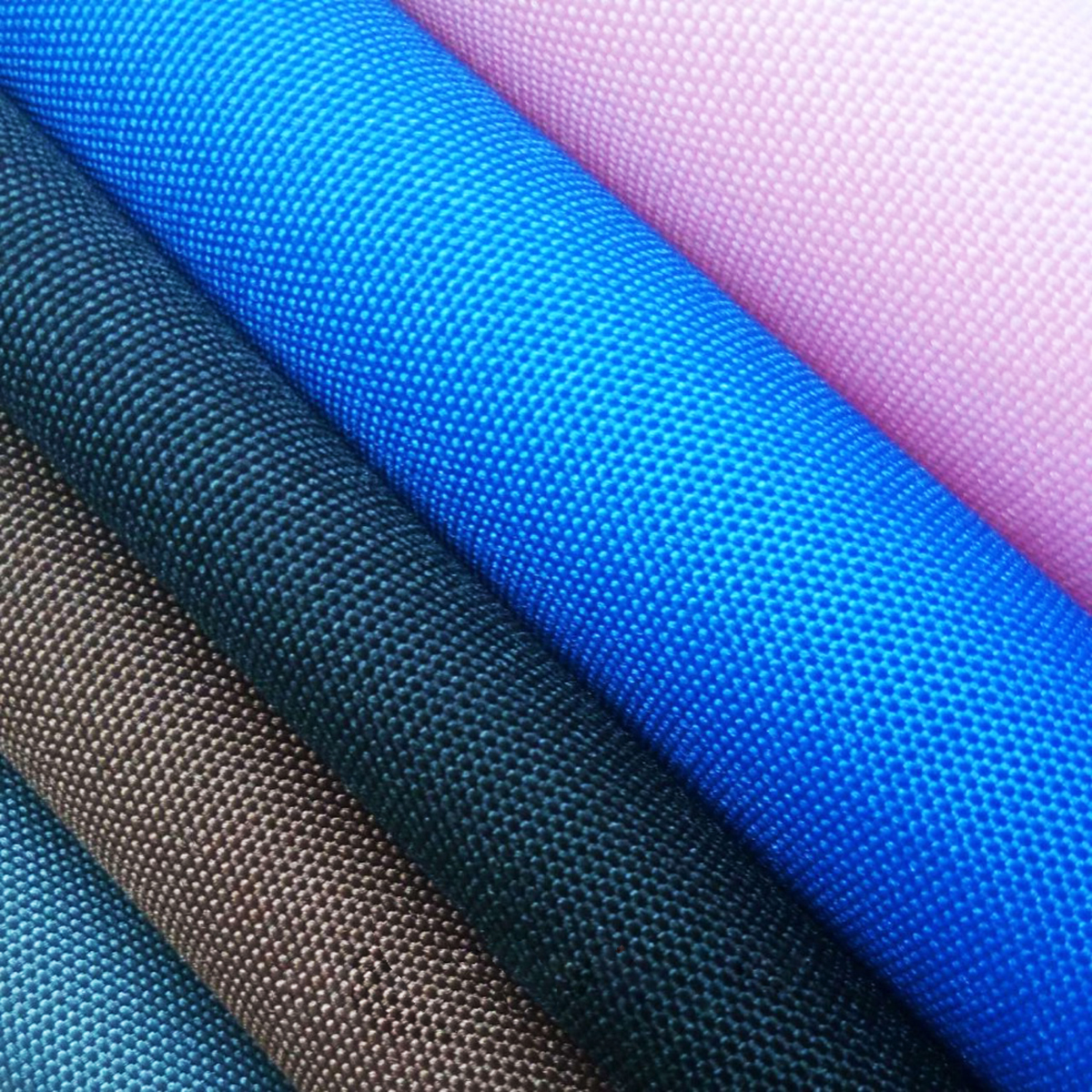 300D Polyester Plain Dyed Oxford Fabric With PU Coated For Bags and garments