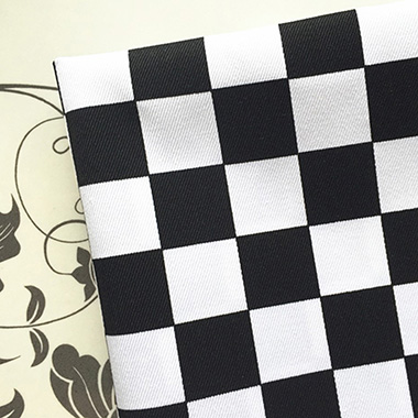 White black printed 8020 TC fabric for cushion home textile 80% Polyester 20% Cotton