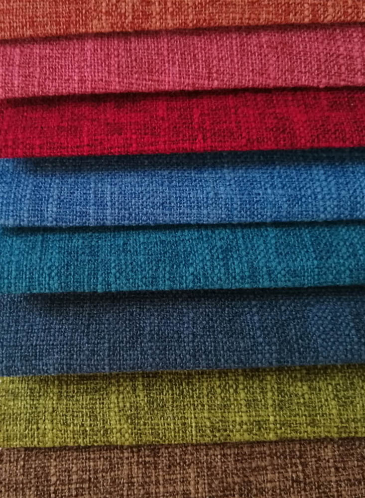 Polyester 300D like linen type fabric 240T